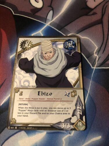 Naruto Cards CCG TCG Ebizo 663 UNCOMMON COMBINE SHIPPING