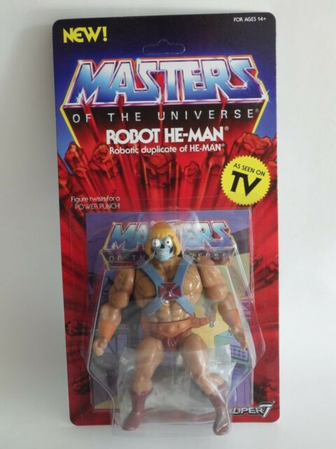 Figurine Masters of the Universe Series 2 Vintage Collection Robot He-Ma 14cm