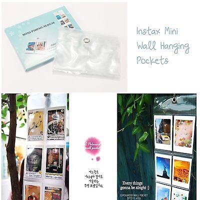 Hanging Wall Photo Album For Fujifilm Instax Mini 90 8 7s 25 Polaroid Camera