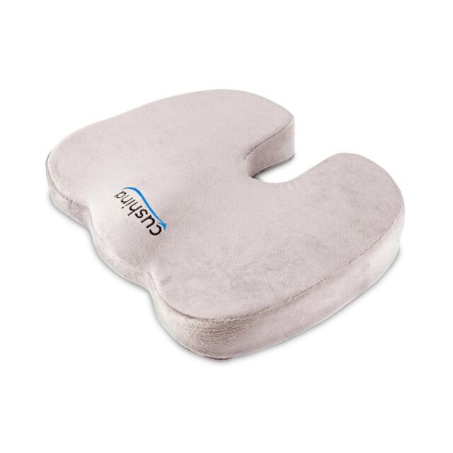 Cushina Best Memory Foam Cushion For Any Seat Premium Orthopaedic Coccyx Cushi