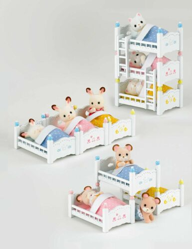SYLVANIAN FAMILIES FURNITURE BABY BED KA 213 CALICO CRITTERS FREE SHIPPING