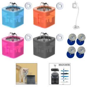 2L Chat Électrique Automatique Fontaine D'eau Potable Distributeur Bol USB