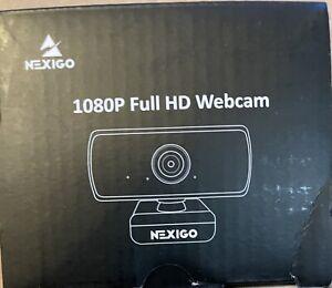 NexiGo Autofocus 1080P 60 FPS Webcam Microphone Streaming
