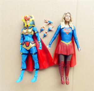 lot-2-DC-Universe-Big-Barda-DC-Collectibles-SUPERGIRL-tv-action-Figure-6-034-6-75-034