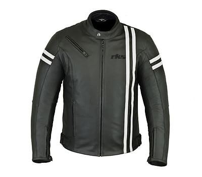 Gelernt Rksports Speed-2 Mens Fashion Leather Motorcycle Motorbike Jacket With Armour