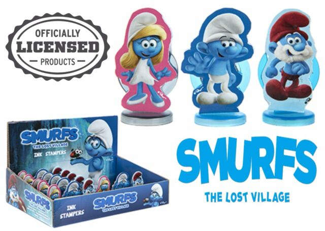 MEGA 53 PCS Smurfs The Lost Village Stationery Bumper Pack Official Merchandise