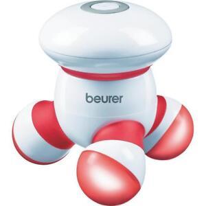 beurer-Mini-Massager-MG16-rot-Vibrationsmassage-klein-und-Handlich-LED-Licht