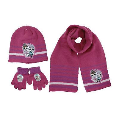Lol surprise Hat and Gloves set new girls gift set