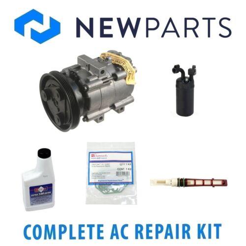 Complete A//C Repair KIT w// Compressor /& Clutch for Hyundai Sonata 94-97 2.0L