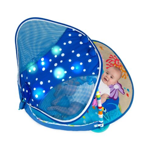 Ray Ocean Lights Music Toys Activity Gym Play Mat Tummy Time Disney Baby Mr