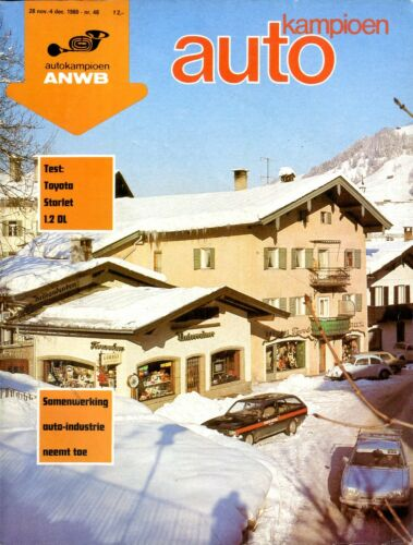 1980 AUTOKAMPIOEN MAGAZIN 48 TOYOTA STARLET 1.2DL ALFA ROMEO GTV6 2.5 BMW 318 I