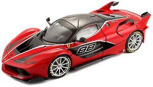 Burago-16907-Coche-de-coleccion-Ferrari-Signa-FXX-K-rojo-Escala-1-18