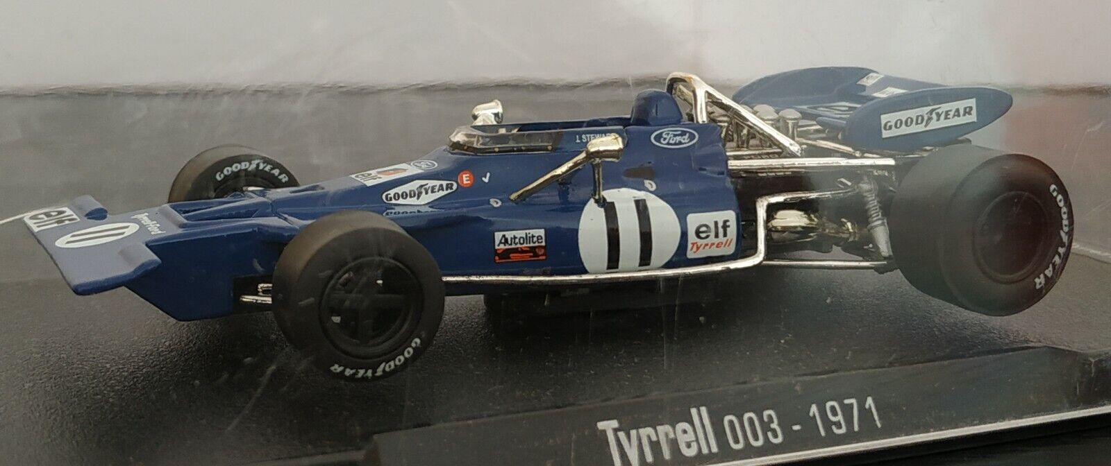 143 TYRRELL 003 1971 F1 FORMULA 1 COCHE DE COLECCION A ESCALA
