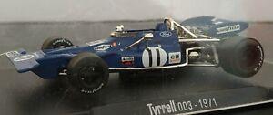 1-43-TYRRELL-003-1971-STEWART-CEVERT-F1-FORMULA-1-COCHE-METAL-ESCALA-DIECAST