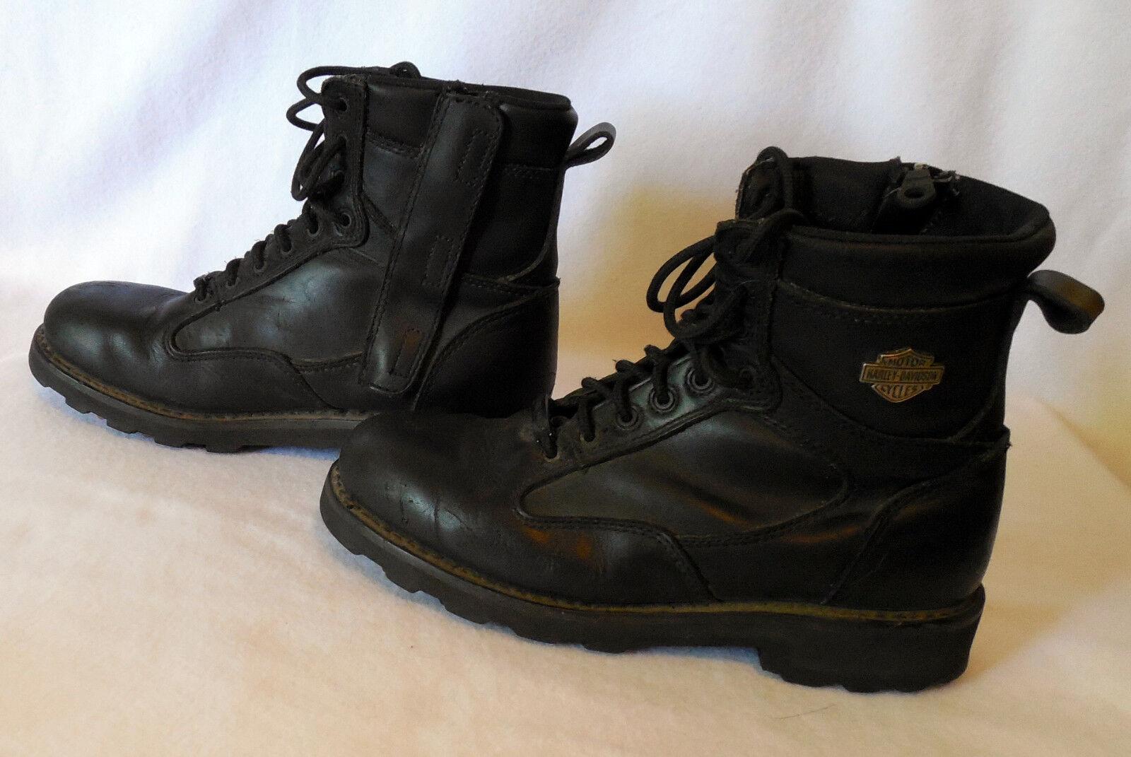 HARLEY DAVIDSON mens BOOTS SHOES size 9.5  G189