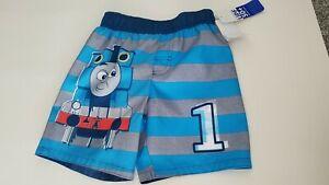 Toddler Boys Thomas /& Friends Swim Trunks BRAND NEW W TAGS Size 2T