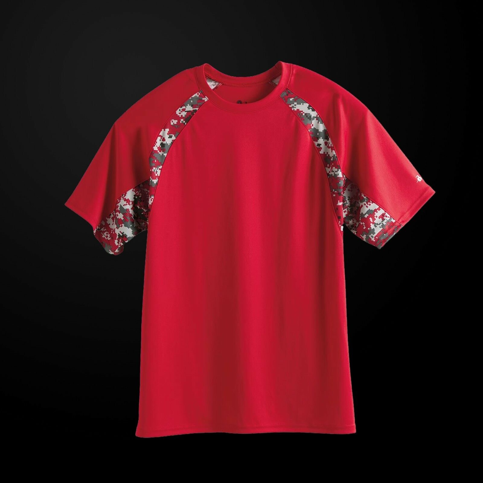 badger digital camo hook t shirt 4140 men 39 s 100 polyester tee ebay. Black Bedroom Furniture Sets. Home Design Ideas