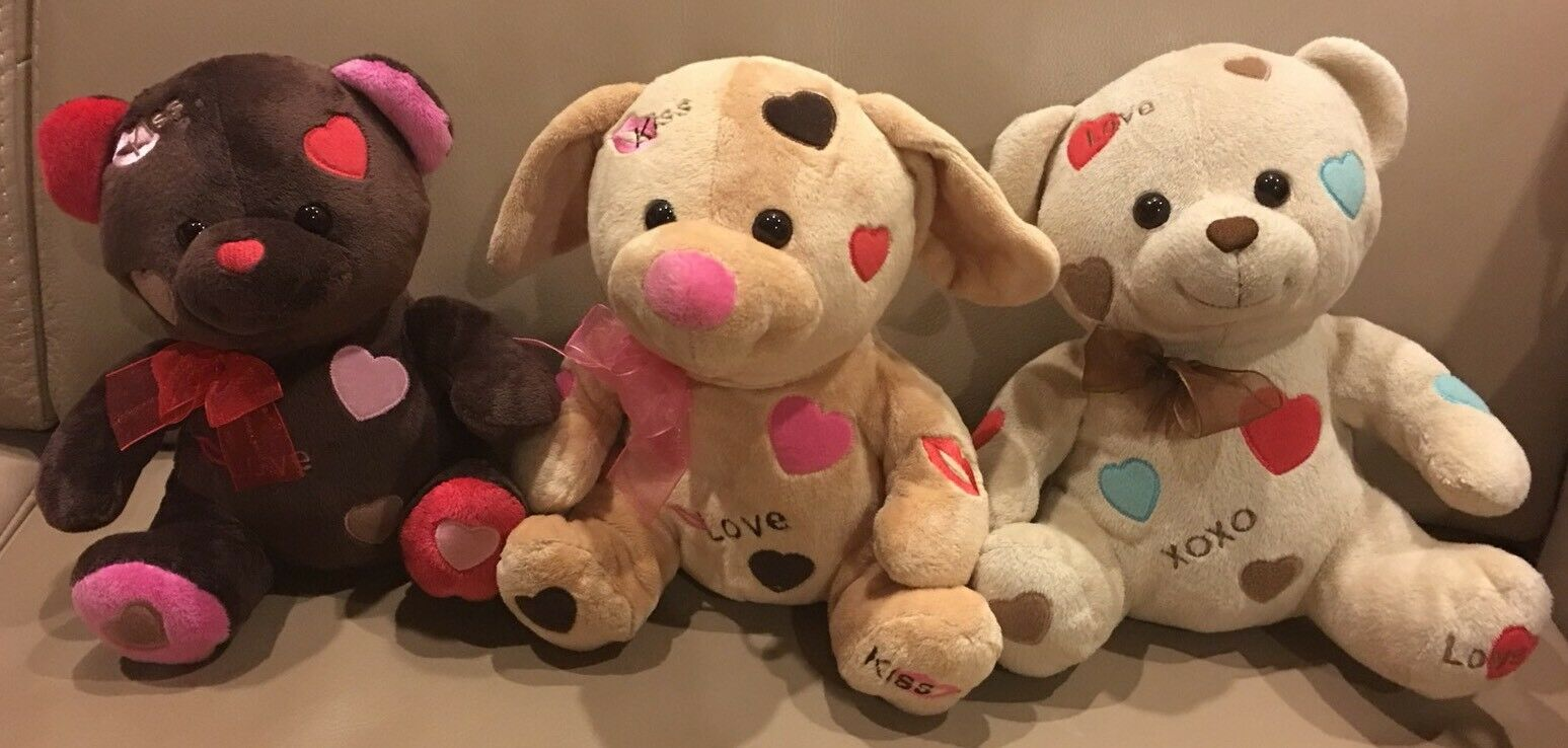 Dream Dream Dream Love Kiss Teddy Bears Dog Valentines 10