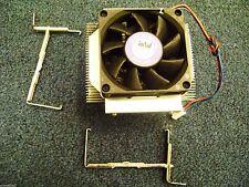 Emachines T2958 Genuine  Intel Socket 478 CPU Cooling Heatsink w/ Fan & Clips