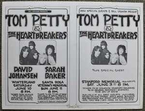 Tom-Petty-Concert-Poster-Uncut-Randy-Tuten-Signed-CA-1978