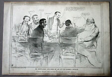 1835 Doyle HB Sketch Satirical Political drawing, The Way to Bamboozle John Bull