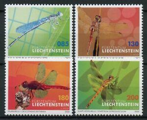 Liechtenstein-Insects-Stamps-2020-MNH-Dragonflies-Dragonlfy-Part-II-Fauna-4v-Set