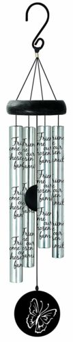 """Carson Home Accents 21/"""" Friends Sonnet Chime"""
