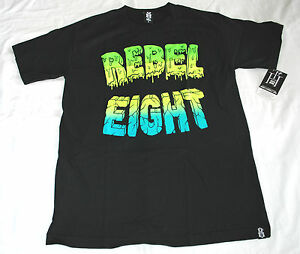 REBEL8-Goo-Logo-T-Shirt-Mike-Giant-tattoo-streetwear-skate-punk-New