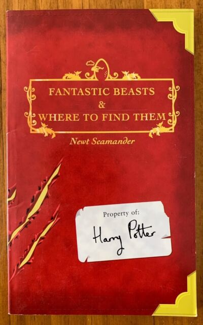 J.K Rowling - Harry Potter - Fantasic Beasts & Where To Find Them