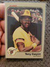 1983 Fleer Tony Gwynn San Diego Padres #360 Baseball Card
