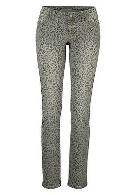 LAURA SCOTT Jeans Hose slim fit grey Denim Gr. 21 42 84 NEU - J57