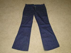 Pantalon Vaquero Wrangler Vintage 70s Bell Pantalones Para Mujer Talla 13 34 X 31 Ebay