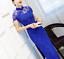 Women-Bodycon-Dress-Cheongsam-Side-Slit-Sexy-Lace-Slim-Dance-Party-Evening-Qipao thumbnail 4
