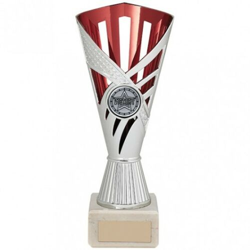 FREE ENGRAVING SAVE £5 * PRESENTATION CUP Achievement Red Multi Sport Bowl