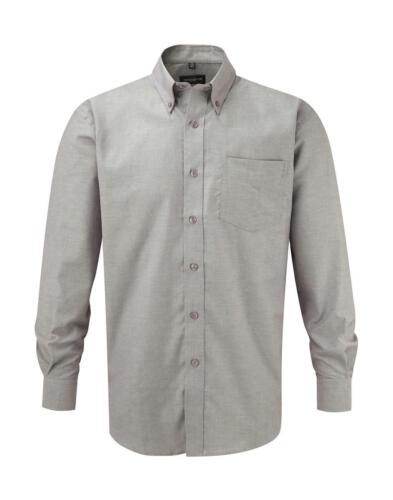 RUSSELL Herrenhemd Oxford Hemd Herren Übergröße bis 6XL Easy Care 932 NEU