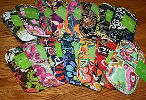 NWT-Vera-Bradley-DOUBLE-EYE-eyeglass-soft-case-for-readers-backpack-tote-purse