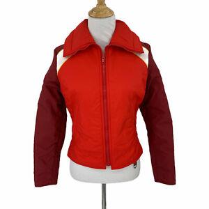 Vintage SKYR Winter Ski Coat Womens Size S Full Zip Waterproof Puffer Jacket 80s