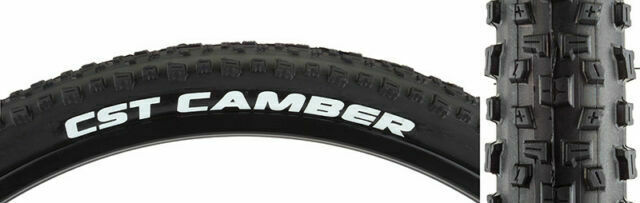 Black Steel Bead CST Camber Tire 26 x 2.1 Single Compound 27tpi
