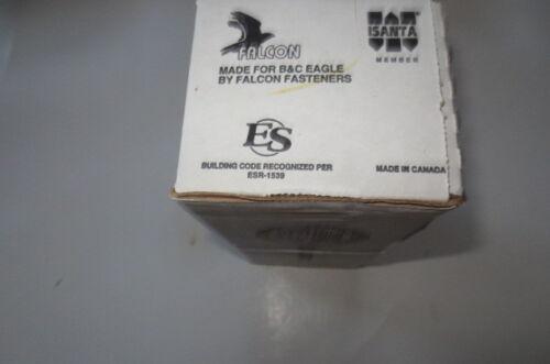 "B/&C EAGLE-A314x131HD//22 full round Head plastic co3 1//4/""x.131 Hot Dip,500 box FS"