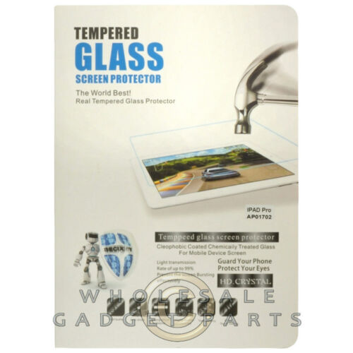 Tempered Glass Screen Protector for Apple iPad Pro Cover Film Guard Shield Front