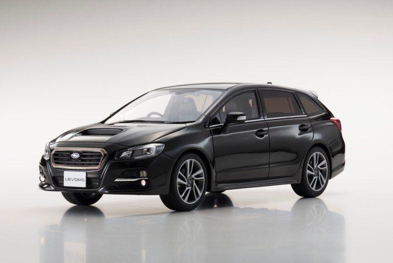 SUBARU LEVORG 1.6 GT-S Vue Noir KYOSHO modèle 1 18  KSR18015BK