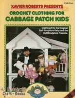 Cabbage Patch Kids Crochet Clothing Vintage Patterns Book Xavier Roberts