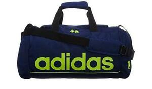 New-adidas-Linear-Team-Bag-Holdall-Navy-Blue-sport-gym-swimming-training-travel