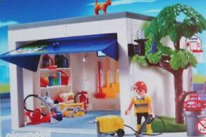 Playmobil-Piece-de-rechange-Garage-de-maison-4318