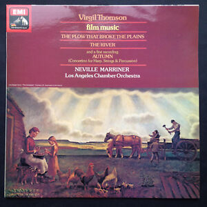 VIRGIL-THOMPSON-FILM-MUSIC-Soundtracks-LP-Rare-HMV-Plow-That-Broke-The-Plains