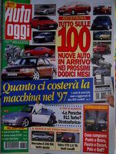 Auto Oggi 52 1997 100 nuove auto nel 98. Test Alboreto sulla Posche 911 [Q70]