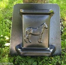 "gostatue horse bench leg plastic mold concrete mold 3/16th"" plastic mold"