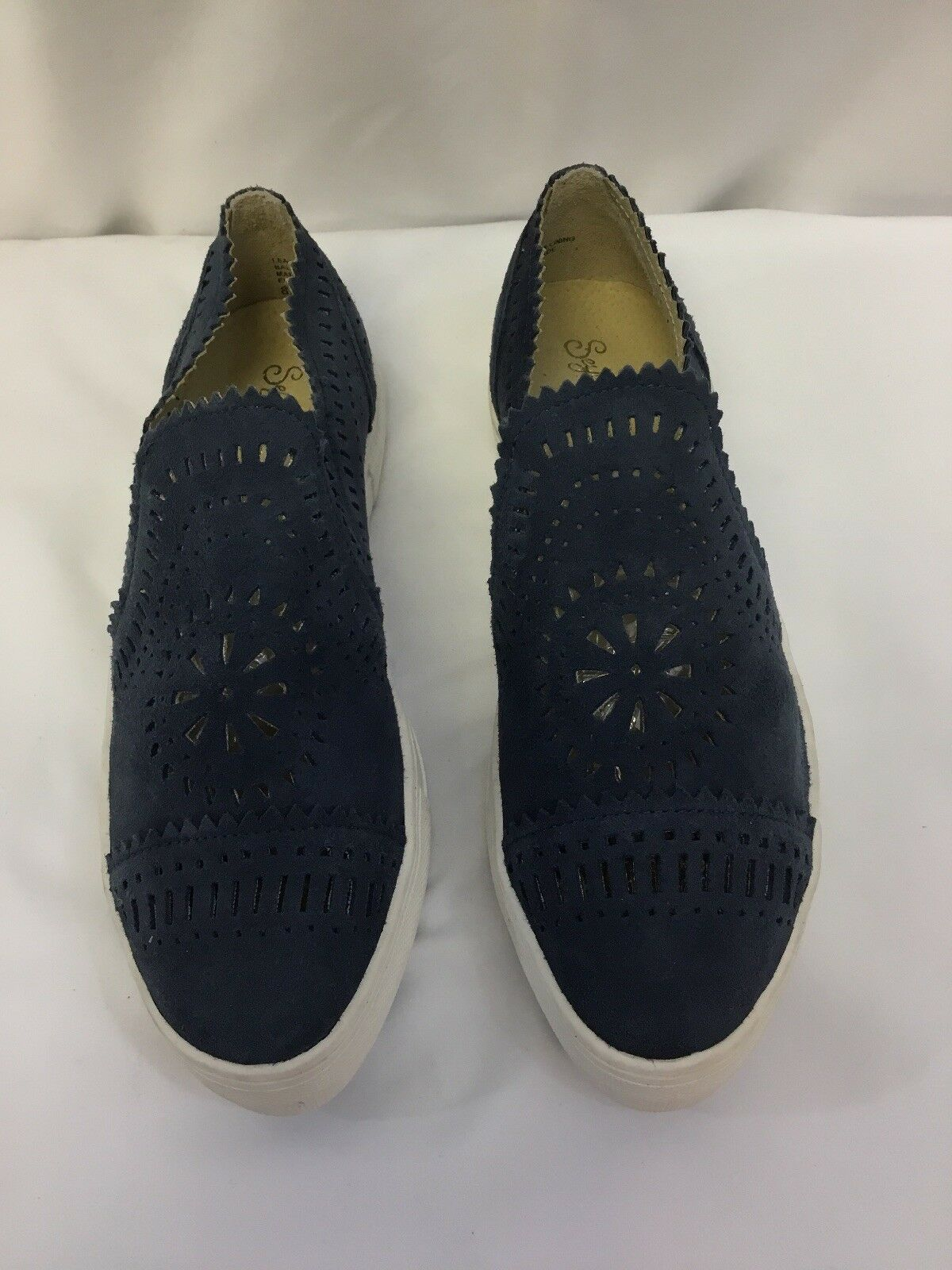 Seychelles So Nice Suede Slip-On Sneakers Indigo SIZE 8.5 8.5 8.5 a79f0c