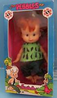 Flintstones 1982 Mighty Star 16 Pebbles Flintstone Doll Mint In Box