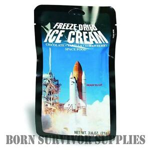 FREEZE-DRIED-SPACE-ICE-CREAM-Astronaut-Food-Ration-Pack-Camping-Gadget-Gift